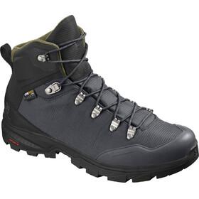 Salomon M's Outback 500 GTX Shoes Ebony/Black/Grape Leaf